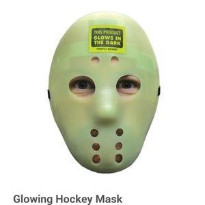 Jason Friday the 13th Hockey Mask Glows NWOT